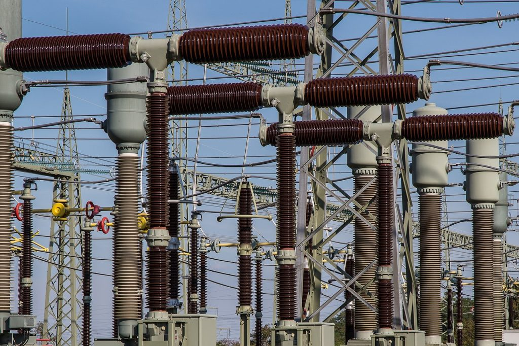 substation, electricity, current